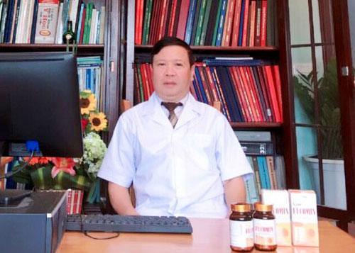 Đại tá. PGS. TS Vũ Mạnh Hùng chia sẻ về Nano Fucomin Học Viện Quân Y