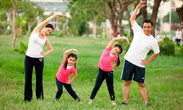 tập thể dục thường xuyên để phòng chống bệnh mất ngủ,kho ngủ