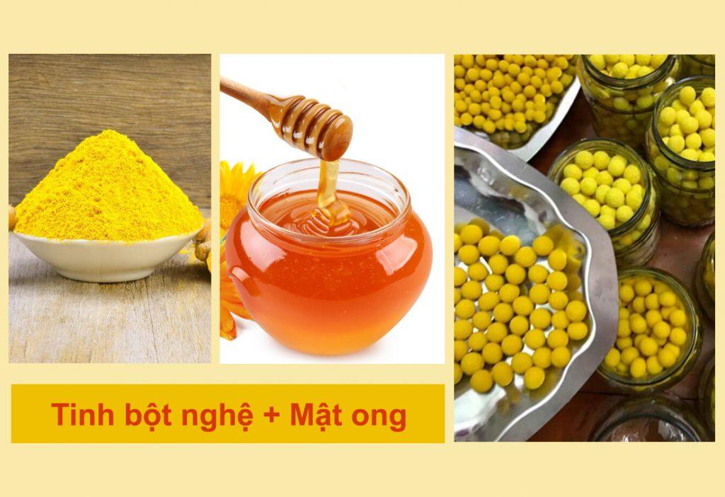 Hướng dẫn cách chữa bệnh đau dạ dày bằng nghệ và mật ong