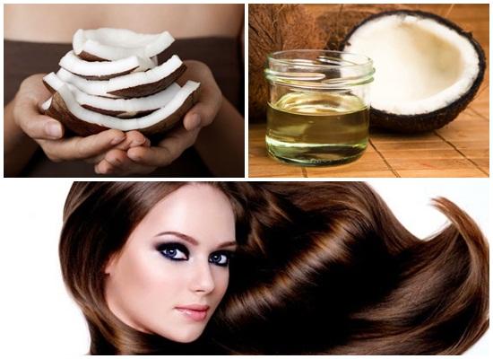 Dùng các loại mặt nạ dưỡng tóc như dầu dừa   sẽ giúp tóc chắc khỏe và nhanh mọc trở lại  hơn
