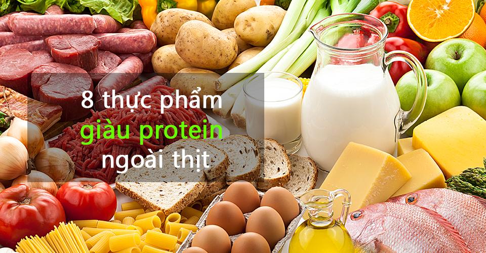 Ăn nhiều protein (chất đạm) hơn giúp giảm béo phì một cách tự nhiên