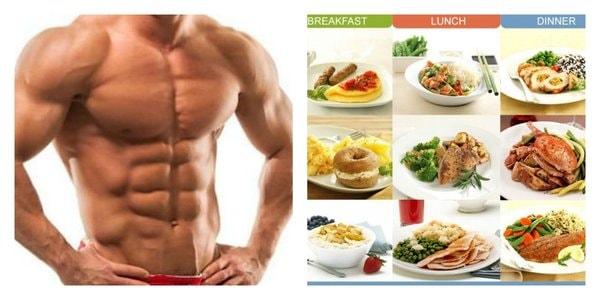 Chế độ ăn uống đóng vai trò quan trọng trong việc giảm mỡ bụng cho nam giới