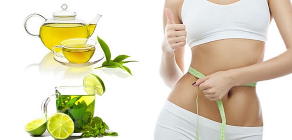 Uống nước chanh và nước trà xanh là cách giảm cân hay nhất dễ làm dễ thực hiện