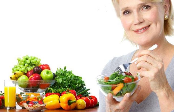 Giảm cân cho tuổi trung niên với chế độ ăn uống lành mạnh
