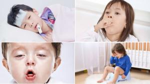 Triệu chứng viêm phế quản ở trẻ nhỏ cần được người lớn quan sát và phát hiện ra.