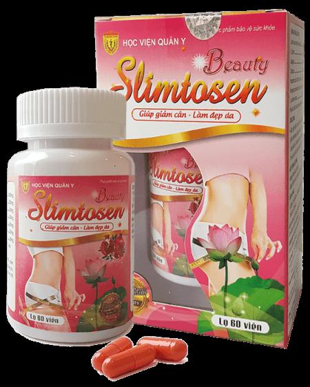 Thuốc giảm cân Slimtosen Beauty Học Viện Quân Y