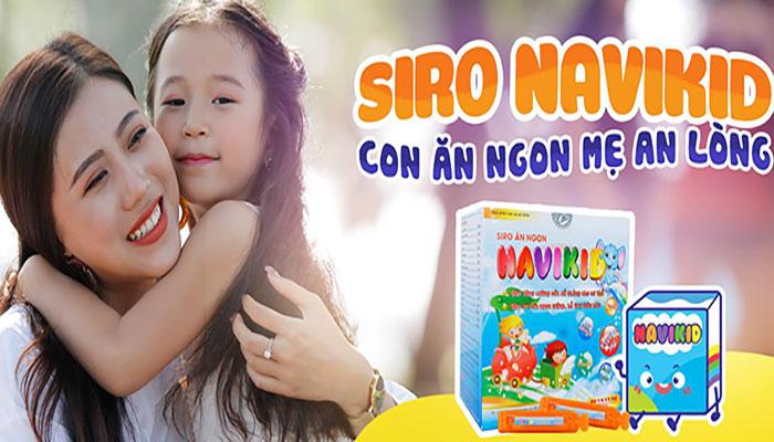 Siro ăn ngon Navikid Học Viện Quân Y ngọt ngào như vòng tay của mẹ