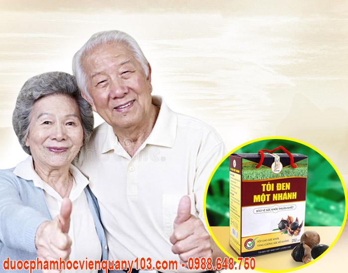 Tỏi đen một nhánh Việt Nam suối nguồn sức khỏe.
