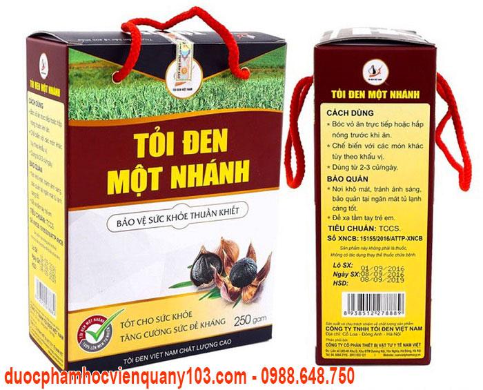 Cách sử dụng tỏi đen một nhánh Việt Nam hiệu quả.