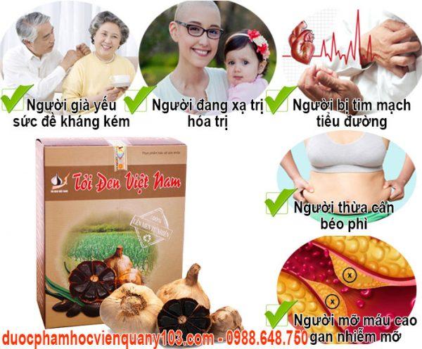 Toi Den Viet Nam 200gr Doi Tuong Su Dung