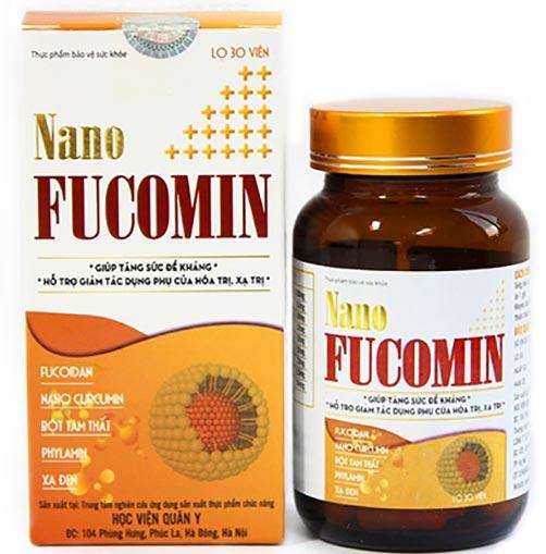 Nano Fucomin Học Viện Quân Y