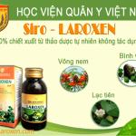 Thành phần trong mỗi lọ siro laroxen