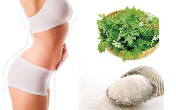 Giảm mỡ bụng sau sinh bằng lá ngải cứu cho hiệu quả nhanh bất ngờ