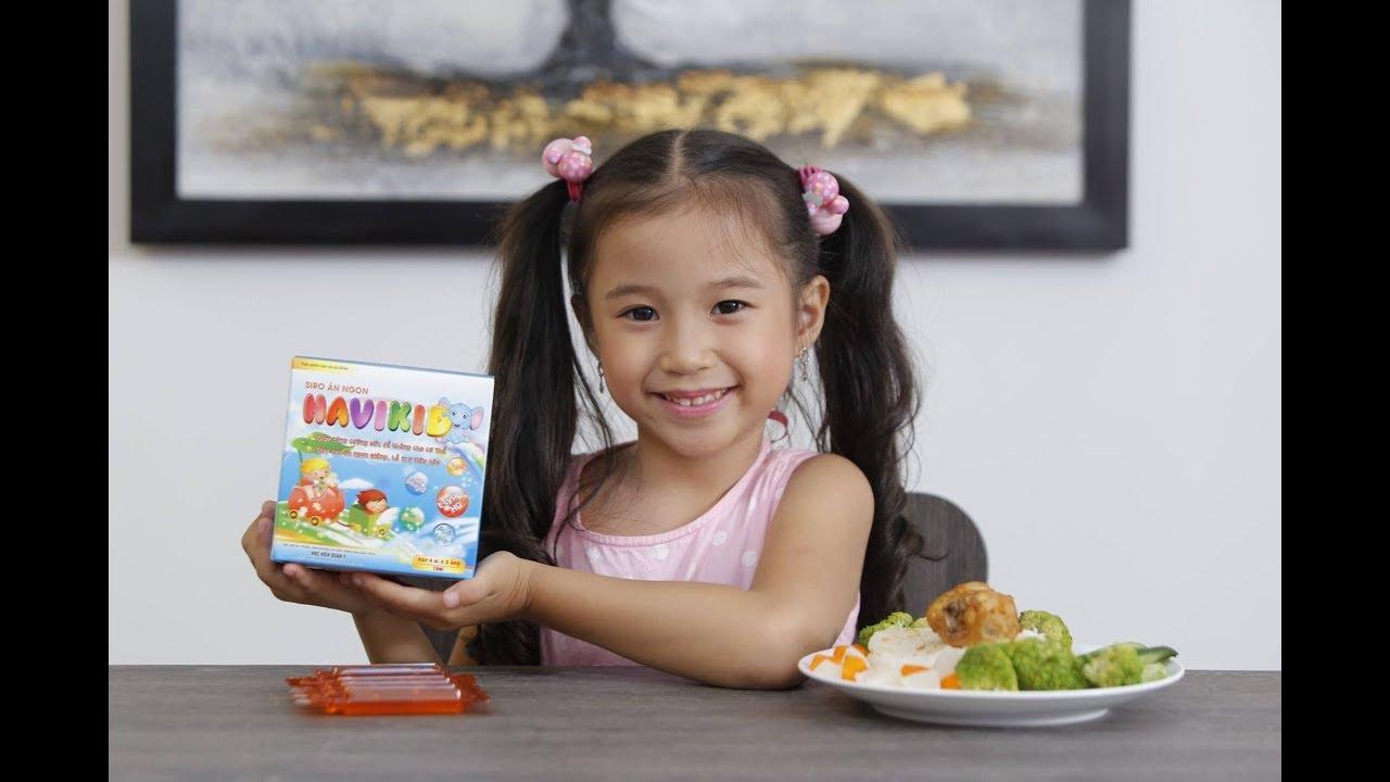Siro navikid bổ sung các acid amin, vitamin và khoáng chất cần thiết cho trẻ
