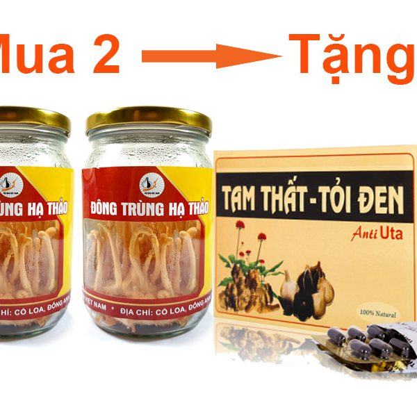Khuyến mãi chưa từng có khi mua Đông trùng hạ thảo tươi Việt Nam