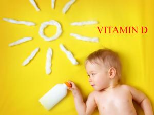 Bổ sung vitamin D cho trẻ sơ sinh
