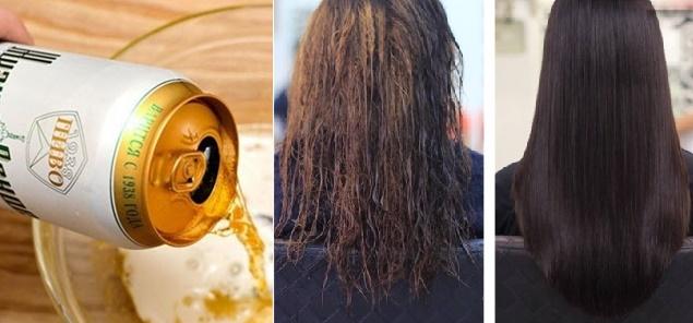 Ủ tóc bằng bia