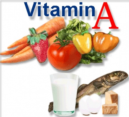 Thực phẩm chứa nhiều vitamin A