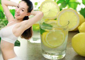 Nước chanh giúp giảm mỡ bụng ngay tại nhà