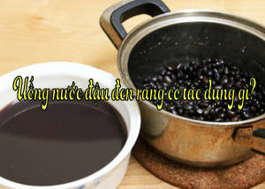 Không chỉ biết đến là thực phẩm giải nhiệt, bổ dưỡng, nước đậu đen còn được xem là 'thần dược' trong việc làm đẹp