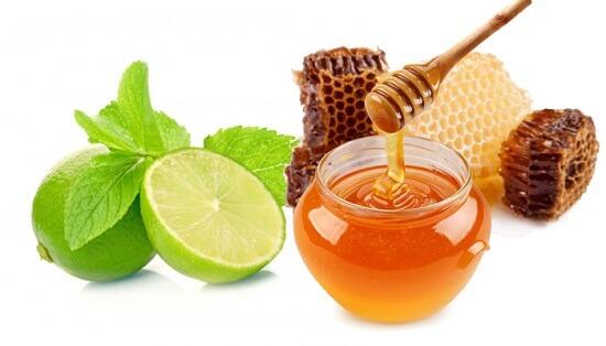 Trị tàn nhang bằng mật ong và chanh