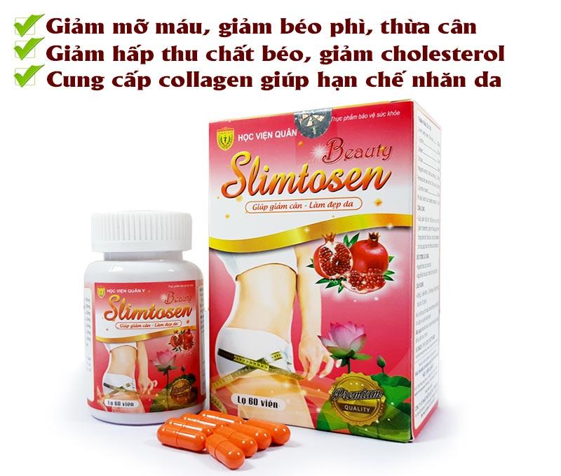 Giảm cân hiệu quả với Slimtosen Beauty