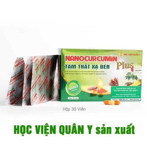 Nanocurcumun tam thất xạ đen plus
