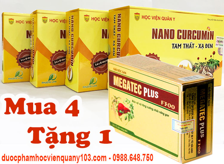Nano Curcumin Plus Tam That Xa Den Khuyen Mai
