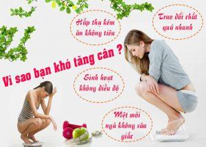Tại sao bạn ăn nhiều nhưng vẫn không tăng cân