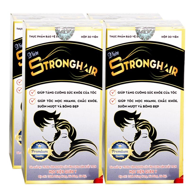 Strong hair Học viện Quân y
