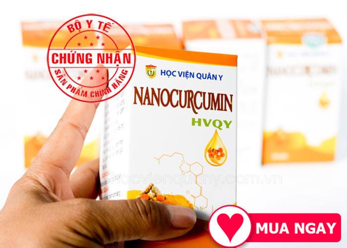 Sử dụng Nano curcumin Học Viện Quân Y thường xuyên là bí quyết cho bạn một sức khỏe vàng