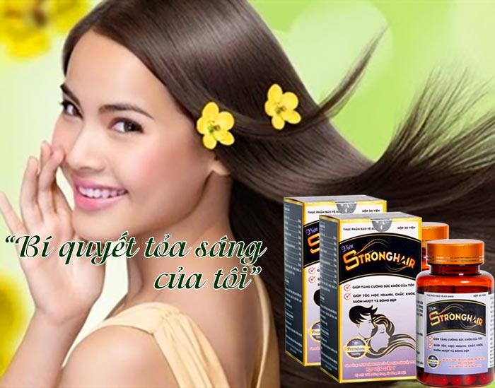 Mái tóc khỏe đẹp rạng ngời với Strong Hair Học Viện Quân Y