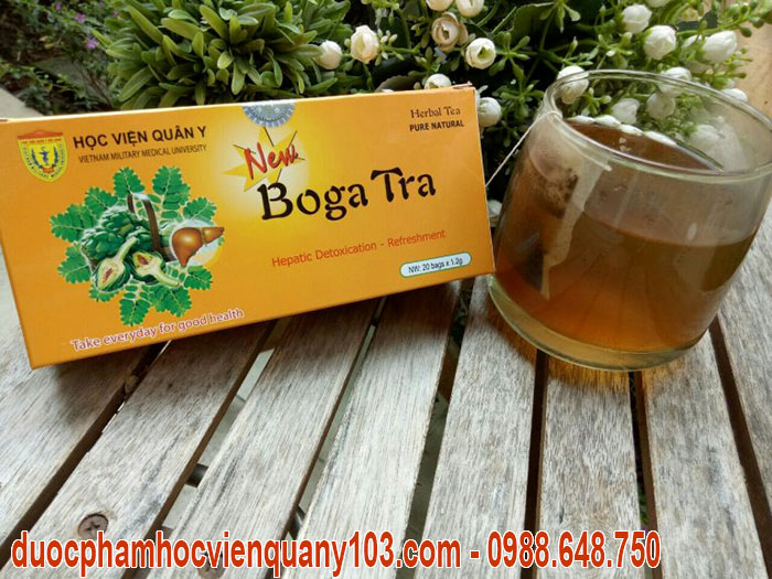 Uống trà bogatra Học Viện Quân Y thường xuyên là bí quyết để có một lá gan khỏe mạnh