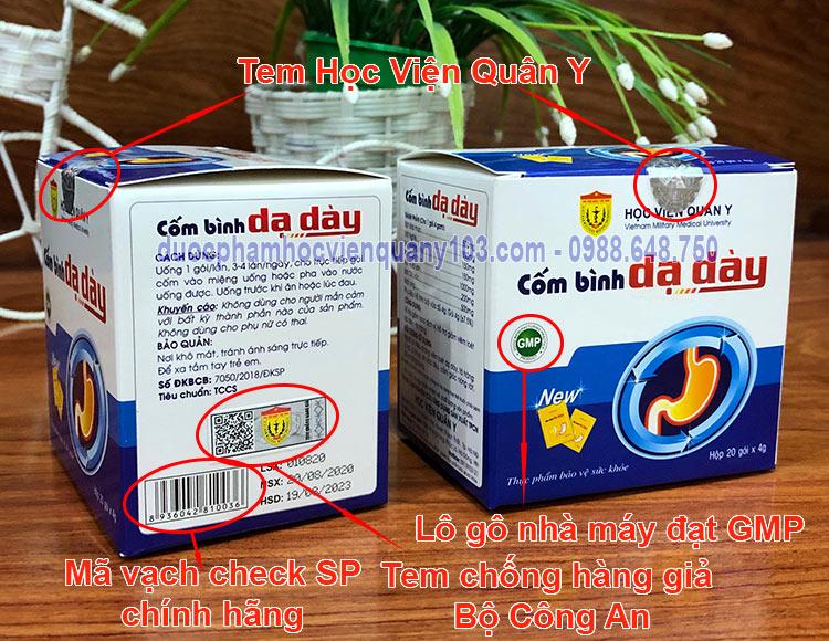 Com Binh Da Day Hoc Vien Quan Y Chinh Hang