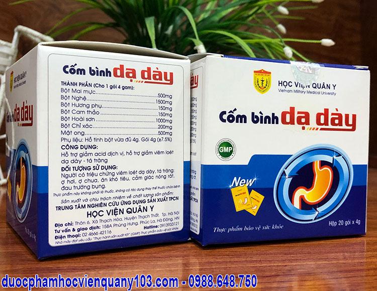 Com Binh Da Day Hoc Vien Quan Y Cong Dung