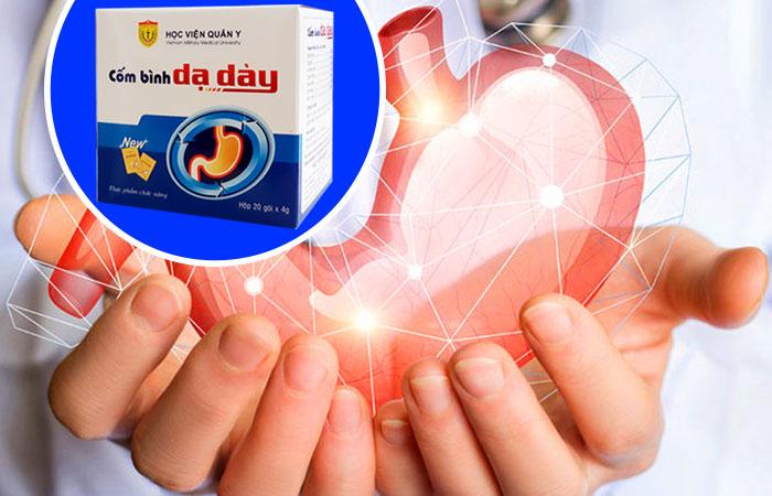 Cốm bình dạ dày Học Viện Quân Y là giải pháp giúp giảm các triệu chứng viêm loét dạ dày, tá tràng hiệu quả