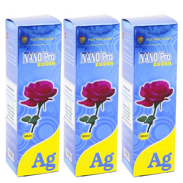3 lọ dung dịch vệ sinh phụ nữ nano pro extra