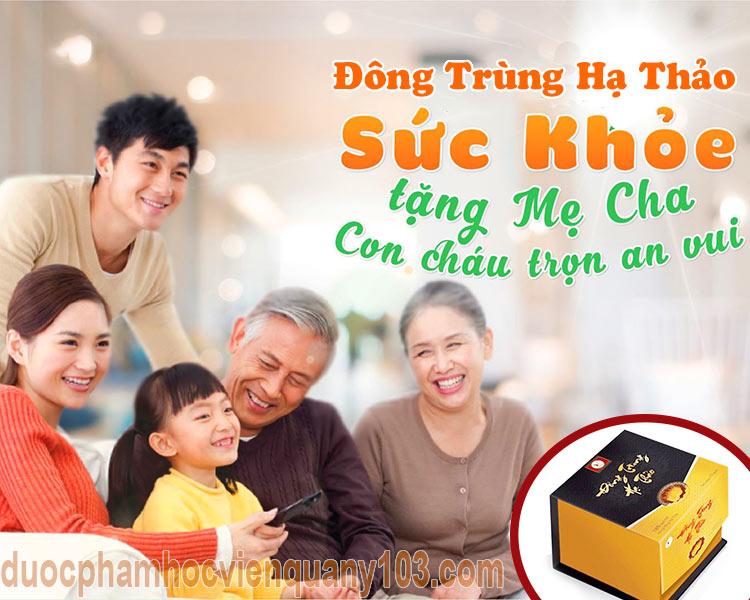 Đômg trùng hạ thảo Việt Nam - Nền tảng sức khỏe của mỗi gia đình