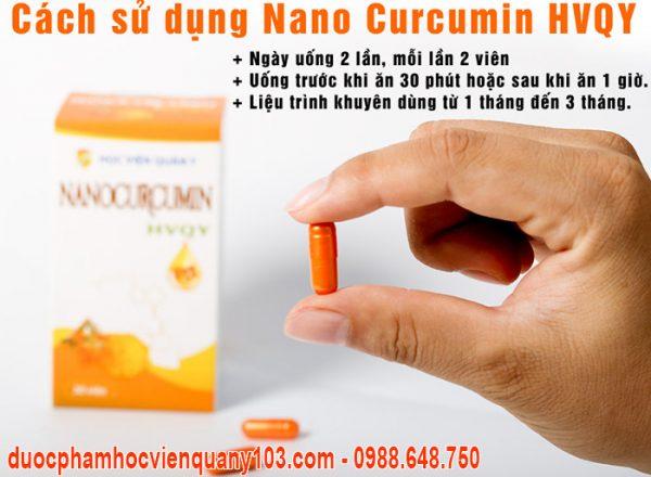 Nano Curcumin Hoc Vien Quan Y Cach Su Dung