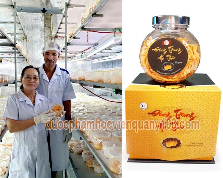 Quy trình sản xuất đông trùng hạ thảo Việt Nam luôn được giám sát chặt che bởi các chuyên gia hàng đầu