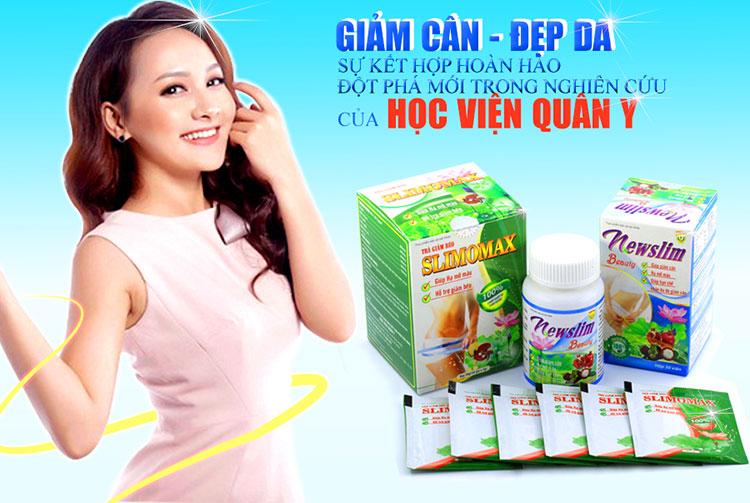 Trà giảm cân Slimomax Học Viện Quân Y bí quyết tỏa sáng của các ngôi sao hàng đầu Việt Nam