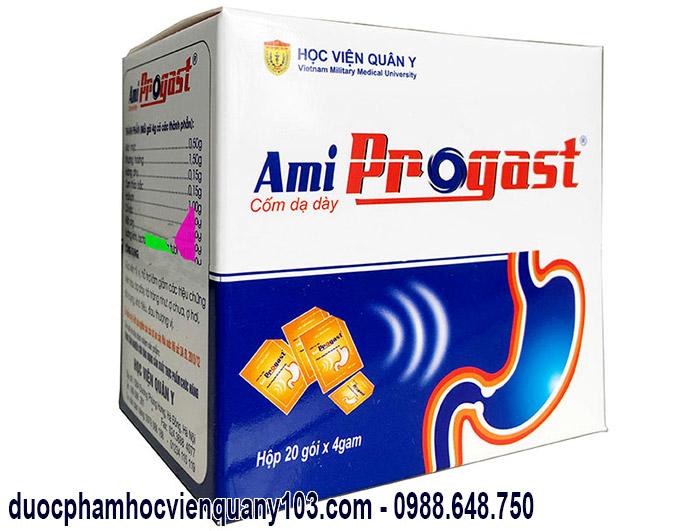 Cốm dạ dày Ami Progast Học Viện Quân Y Việt Nam
