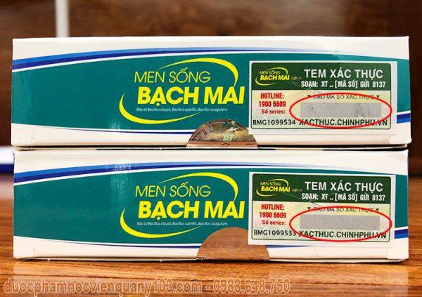 Men Song Bach Mai Xac Thuc