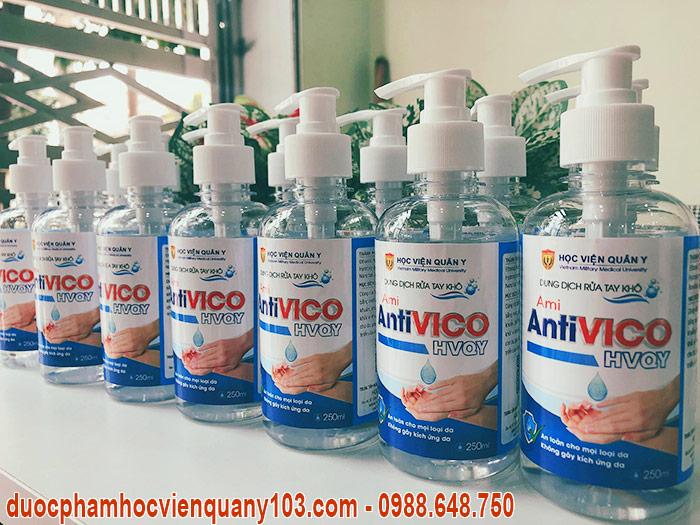 Ami AntiVICO 250ml Học Viện Quân Y