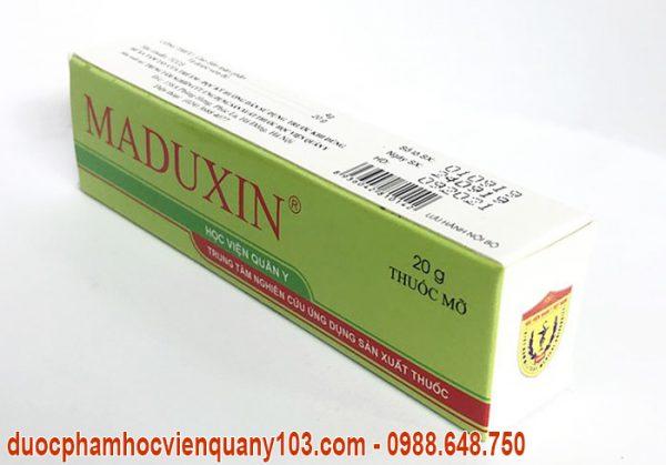 Thuốc chữa bỏng maduxin học viện quân y