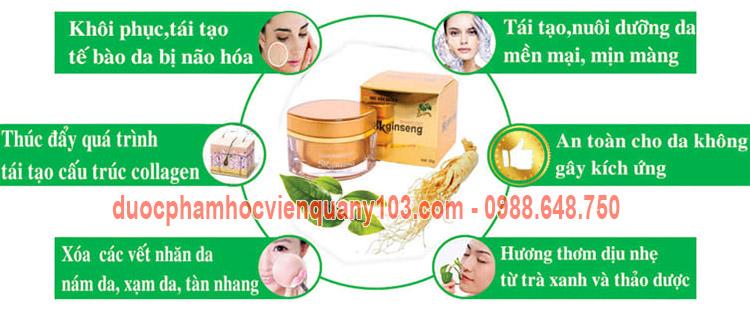 Cong Dung Kem Sam Ngoc Linh Skginseng Hvqy