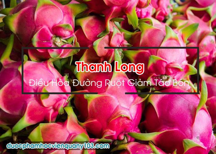 Các Loại Trái Cây Tốt Cho Người Bị Đau Dạ Dày: Thanh Long