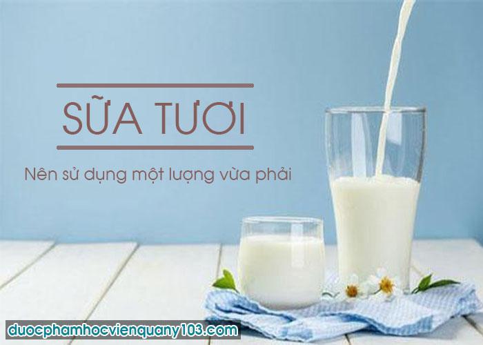 Trào Ngược Dạ Dày Có Nên Uống Sữa Tươi Không?