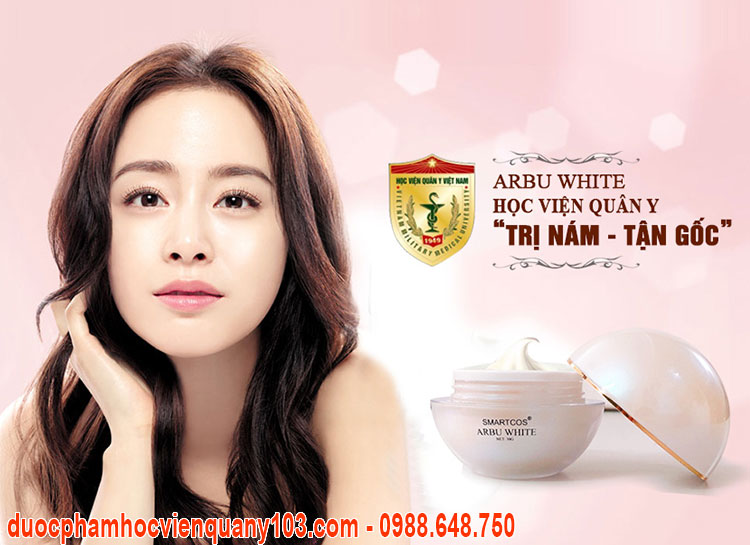 Kem Tri Nam Arbu White Hvqy Chinh Hang 1