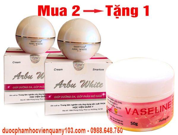 Kem Tri Nam Arbu White Hvqy Khuyen Mai